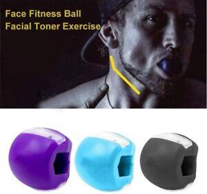 Jaw Exerciser Jawline Tone Face Neck Facial Toner Muscle Trainer Anti-Wrinkle UK