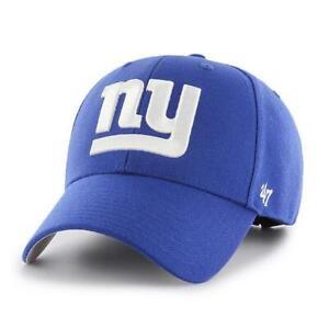 New York Giants 47 Brand MVP Wool Adjustable Field Hat Cap NFL