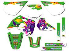 1994 1995 1996 1997 KX 80 GRAPHICS KIT KAWASAKI KX80 DECO DECALS STICKERS