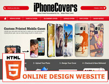 Personalised Mobile Phone covers - Sublimation Online Design Website in HTLM5