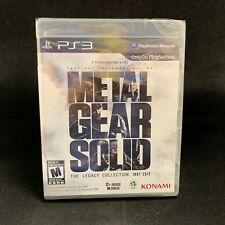 Metal Gear Solid The Legacy Collection (PS3 / PlayStation 3) BRAND NEW