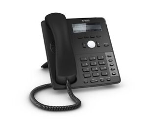 SNOM SNO-D715 4039 SIP VoIP IP Phone 2 Gigabit USB PoE Black No PS