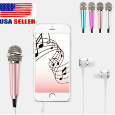 Studio Portable Mini 3.5mm Stereo Studio Speech Mic Audio Microphone for Phone