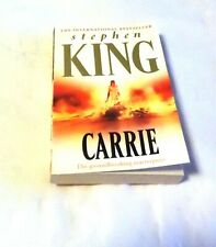 Carrie by Stephen King Free postage - bonus an introduction by Mr King himself