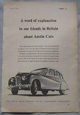 1950 Austin Original advert No.4