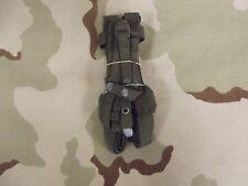 Vintage U.S. Military Sleeping Bag Carrier USGI Bed Roll Straps Fair Condition