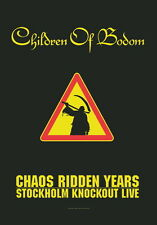 """CHILDREN OF BODOM FLAGGE / FAHNE """"CHAOS RIDDEN YEARS"""""""