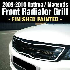 FRONT Hood Radiator Grill Finished Painted For KIA 2009-2010 Optima / Magentis