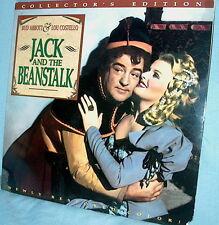 LD laserdisc JACK AND THE BEANSTALK Abbott & Costello