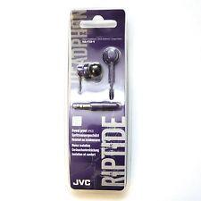 JVC HA-FX8-V Riptide / Riptidz  Violet In-Ear Headphones Earbuds Style