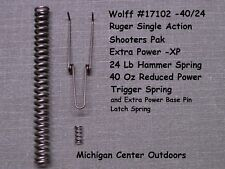 Wolff EXTRA POWER SPRING KIT for Ruger Blackhawk, Super, Bisley, Vaquero W17102