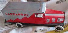 Camion Lazzaroni anni 70 latta tin toy Furgone Pubblicitario Promozionale