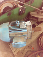 Weg Severe Duty 5 Hp Electric Motor 1745 Rpm