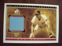 Ron Santo Chicago Cubs 2002 UD SP Legendary Cuts game-worn jersey relic