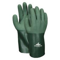 "Mcr Safety Mg9756s 12"" Chemical Resistant Gloves, Nitrile, S, 12Pk"