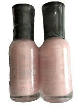 2 Pack Sally Hansen Hard As Nails Xtreme Wear Nail Color Polish, Tickled Pink.