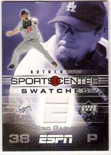 ERIC GAGNE JERSEY 2005 UPPER DECK ESPN SPORTS CENTER SWATCHES GU-EG LA DODGERS