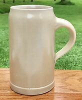 Bavarian 1 Liter Antique Stoneware Designer Signed German Beer Stein