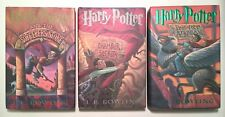 Harry Potter Books 1,2,3 J. K. Rowling 1st Book Club Editions Sorcerer's Chamber