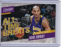 2017 Panini Prestige Kobe Bryant All Time Greats # 1 - Lakers