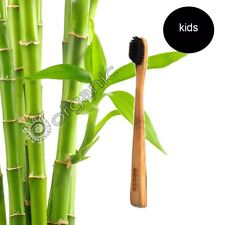 PearlBar Children - 100%25Biodegradable, Bamboo, Charcoal Infused Toothbrush Soft