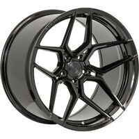 20x10.5 Black Wheel Rohana RFX11 5x112 35