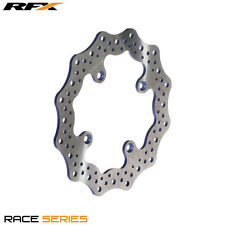 RFX RACE MX REAR BRAKE DISC BLUE FOR YAMAHA YZ80 YZ85 1993-2017