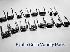 Clapton Coils Variety Pack 16 Coils! (Rda Rta Alien Rba Coils) Buy 2 Get 1 Free