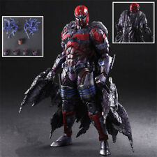 """10"""" X-men Magneto Action Figure Play Arts Kai Collection Model Toy Gift"""