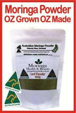 MORINGA POWDER Australian Grown OZ Made, OZ Product 100G