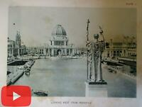 Chicago Columbian Exposition 1893 Official View books 115 photogravure photos