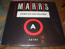 """MARRS pump up the volume / anitina ( r&b ) 7""""/45 picture sleeve"""