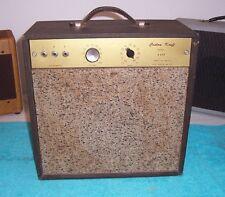 Vintage 1960's Custom Kraft tube amplifier V Rare V Cool amp model 600 A  used