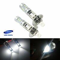 2X H1 448 Xenon Blanc Phare Voiture Lumière de brume  10 LED SMD DRL Beam