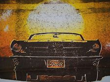 Ford 1964, 1965, 1966 Mustang & GT Desert Scene T-Shirt Large  NEW w/Tags