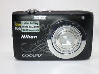 Nikon COOLPIX S2600 14.0MP Digital Camera - Black +16gb