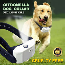 Rechargeable Humane Citronella Anti Bark Spray Collar Stop Dog Training Barking