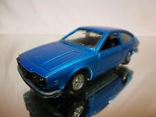 MERCURY 306 ALFA ROMEO ALFETTA GT - BLUE METALLIC 1:43 - GOOD CONDITION