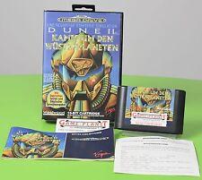Dune II-Kampf um den Wüstenplaneten Sega Megadrive  OVP