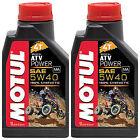 MOTUL ATV POWER 4T 5W-40 100% SINTETICO OLIO MOTORE 2 LT per QUAD ATV CAN AM