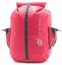 Aqua Quest Sport 30L PRO Waterproof Backpack Durable Hiking Drybag -  Red