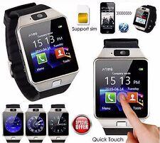 seakingalpha DZ09 Smartwatch Montre pour Android + ARGENT BLUETOOTH