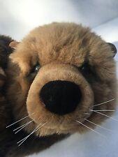 Dakin Otter Plush Holds Clam Lou Rankin Friends 17 inch Applause Stuffed Animal