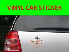 STICKER CAR VINYL SCARY METALLICA BLACK VISIT OUR STORE WITH MANY MORE MODELS