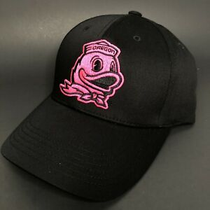 Oregon Ducks Women's Hat Black Pink - Rare NFS Top of The World Sample