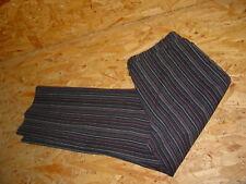 Tolle Stretchjeans/Jeans v.BONITA Gr.42/L30 gestreift Lurex