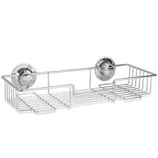 Stainless Steel Shower Caddy | Bathroom & Kitchen Storage Shelf | M&W