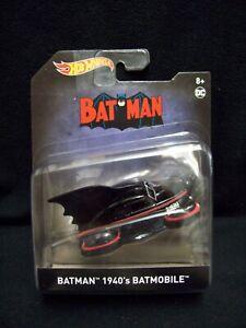 Hot Wheels Batman  1940's Batmobile.