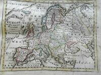 Europe Holy Roman Empire France Ottoman Empire Russia 1780 Holtrop miniature map