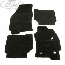Genuine Ford Mondeo MK3 Front Rear Contour Floor Mat Carpet Set Charcoal 1136379